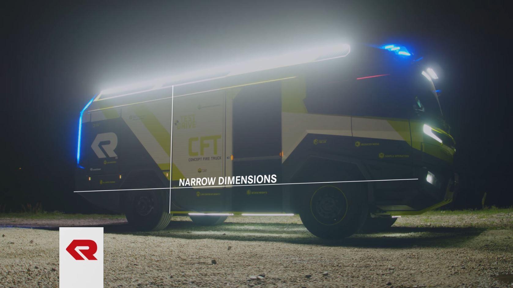 rosenbauer concept fire truck innovation